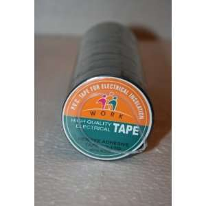 10 YARD 3/4 BLACK TAPE HIgh QUALITY ELECTRICAL TAPE