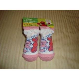 Elmo and Friends Baby Booties/Socks by Plaza Sesamo
