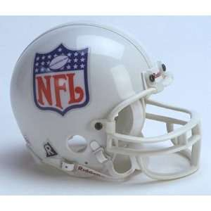 NFL Shield Replica Mini Helmet w/ Z2B Face Mask Sports