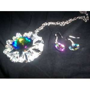 Necklace & Earrings Fashion Jewelry Set 1