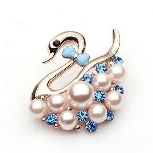 Crystal Brooch Breast Pin [9 Colors] (06005 7) Arts, Crafts & Sewing
