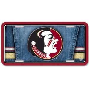 Florida State Seminoles Official Logo Metal License Plate