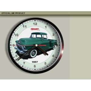 1957 GMC Pickup Truck Wall Clock B002