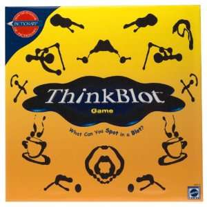 Think Blot Game [Board Game]: Unknown: Toys & Games