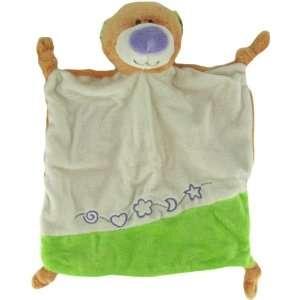 Inch Rattle Plush Tangerine Teddy Bear Mini Blanket by Ganz Baby