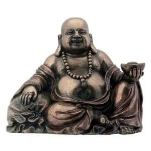 Buddha Holding Gold Nugget Buddhism Statue Figurine