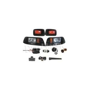 STANDARD Street Package Light Kit for EZGO TXT Golf Cart