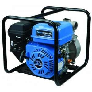 inch 6.5 HP Clear Water Irrigation Pump with 212cc 4 stroke OHV Gas