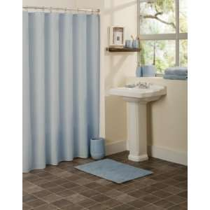 Elements Shower Curtain Sage Green Home & Kitchen