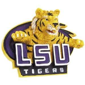 LSU Tigers University Mascot Hanging Ornament:  Sports