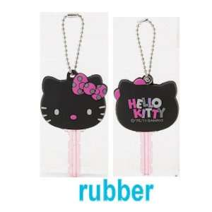 Hello Kitty Key Cap   Black Sweets Toys & Games