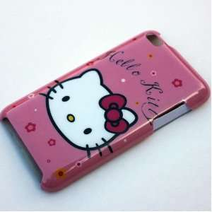hello kitty cute head Case Cover For apple ipod touch