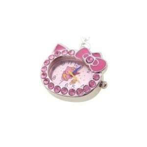 Crystal Hello Kitty Design Necklace Watch Pink Everything