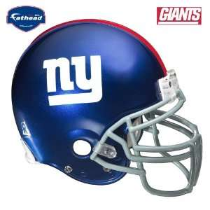 Fathead New York Giants Helmet Wall Decal  Sports