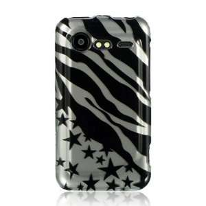 HTC Droid Incredible 2 Graphic Case   Silver Zebra with