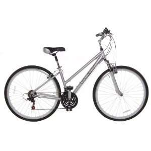 C1 Womens 700c Comfort Hybrid Bicycle Shimano 21 Speed