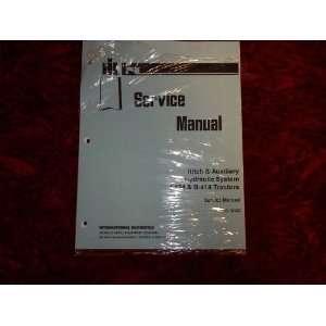 International Harvester I424/B414 OEM Service Manual International