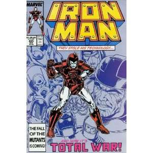 Iron Man (1st Series) #225: David Michelinie, Bob Layton, Mark