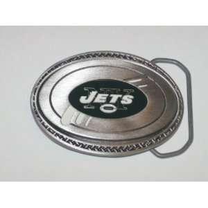 NEW YORK JETS Genuine Pewter Team Logo BELT BUCKLE  Sports