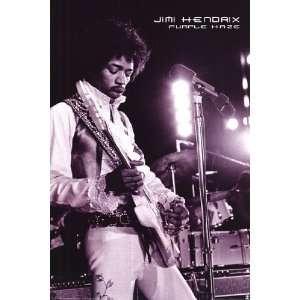 Jimi Hendrix Purple Haze by Unknown 24x36