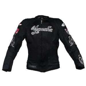 Joe Rocket Yamaha Luv Ladies Textile/Mesh Motorcycle Jacket Black