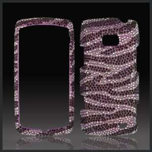 crystal bling case cover for LG Ally VS740 Cell Phones & Accessories