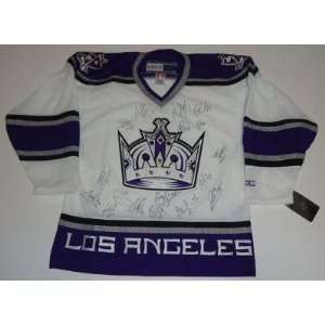 2011 12 *LOS ANGELES KINGS* team signed jersey W/COA A
