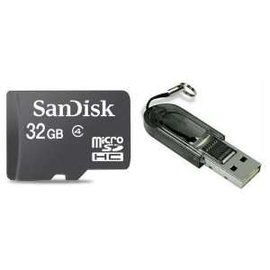 Memory Card with SD Adapter and USB SD Card Reader / Writer #R13 (Bulk