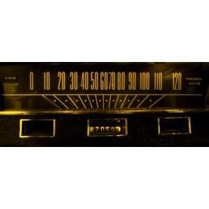 64.5 66 Mustang LED Dash Guage Kit (Amber) Automotive