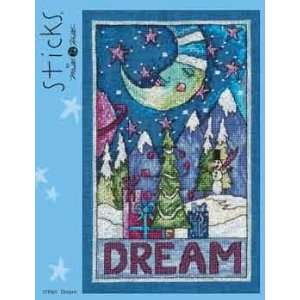 Dream (Sticks)   Cross Stitch Pattern Arts, Crafts