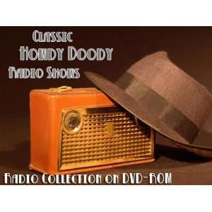 5 Classic Howdy Doody Old Time Radio Broadcasts on DVD