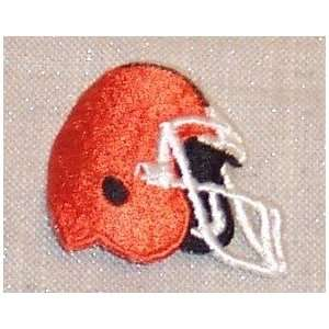 CLEVELAND BROWNS NFL Embroidered Team HELMET PATCH