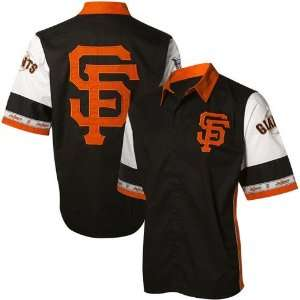 San Francisco Giants Black Pit Crew Shirt
