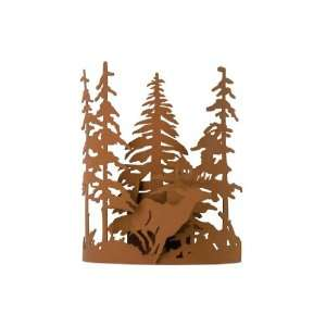 Deer Thru The Trees Wall Sconce Earth