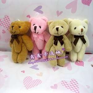 com teddy bears stuffed animals plush toys plush 50pcs/lot tinny bear
