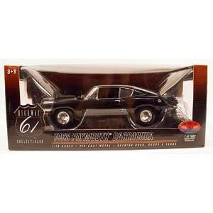 Highway 61 1968 Plymouth Barracuda 118 Scale Die Cast 1