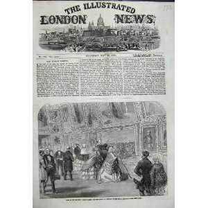 Royals From Portugal Royal Academy Visit 1858 Print Home