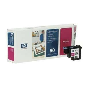 Hewlett Packard 80 Printhead Cleaner Cyan Ink Not Included