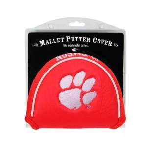 Clemson Tigers Mallet Putter Cover Headcover Sports