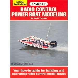 Basics of Radio Control Power Boat Modeling (Rc
