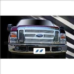 SES Trims Chrome Billet Upper Grille 08 09 Ford F 250