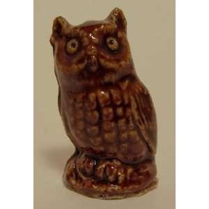 OWL   Red Rose Tea Wade Figurine, American Series #1 1983
