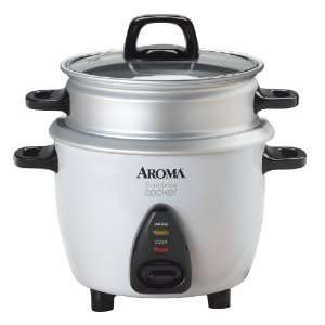 Aroma ARC 733 1G 3 Cup Rice Cooker & Food Steamer Kitchen & Dining