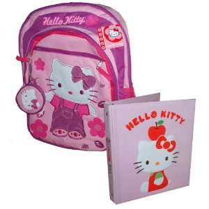 Ring Binder wtih Hello Kitty 3D Image  Toys & Games