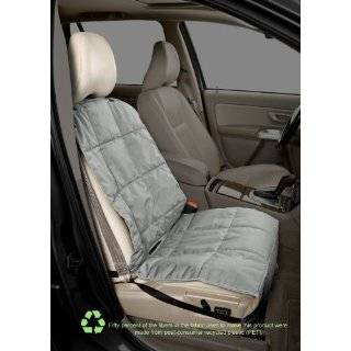 bucket dog car seat cover eco friendly quilted reversible slate sand