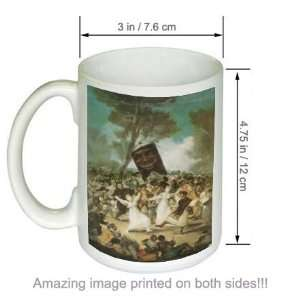 de Goya Art COFFEE MUG The Burial of the Sardine Kitchen & Dining