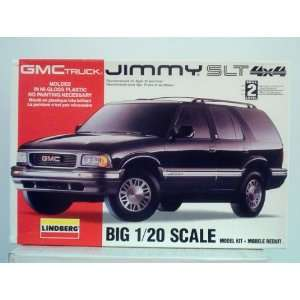 GMC Truck Jimmy SLT 4x4 by Lindberg 120 Scale Toys & Games