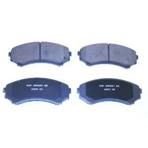 Prime Choice Auto Parts SMK867 Premium New Semi Metallic Front Brake