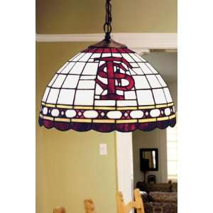 Team Logo Hanging Lamp 16hx16l Florida State Home