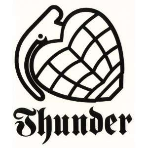 Thunder Trucks Skateboard Sticker Hand Grenade: Sports